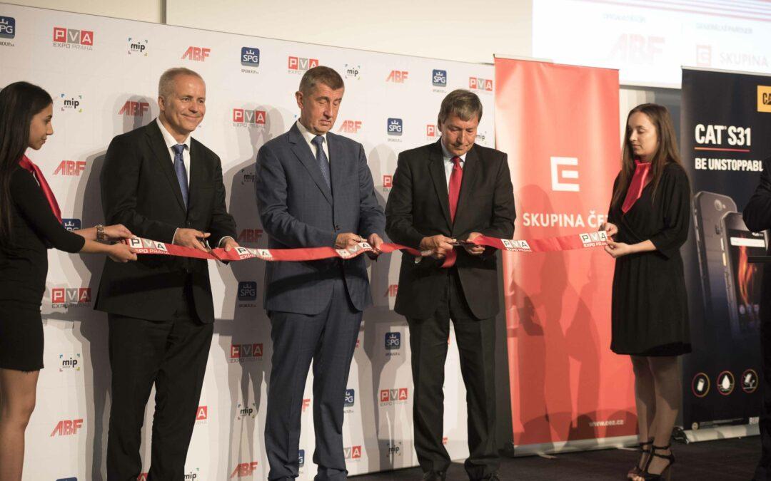 Průmyslový veletrh FOR INDUSTRY zahájil premiér v demisi Andrej Babiš
