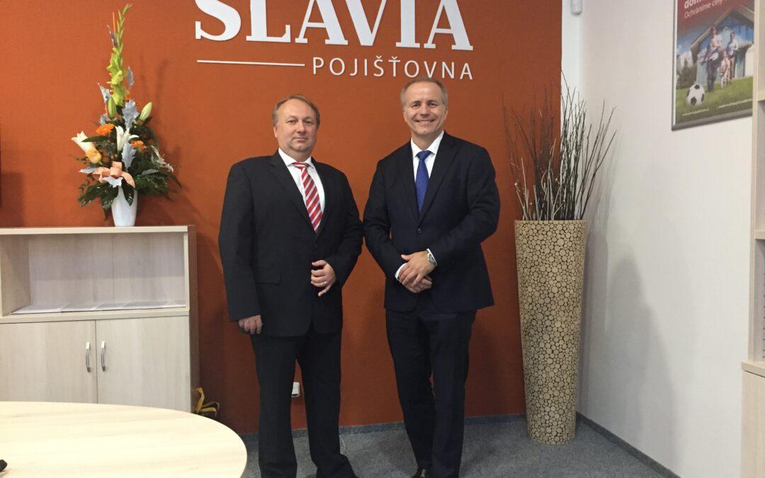 Slavia pojišťovna se chlubí úspěšným pololetím
