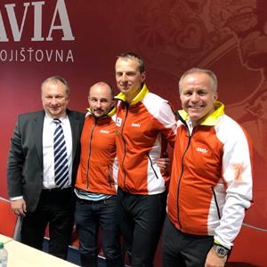Slavia pojišťovna představila nový Sport Team i jeho plány na příští rok