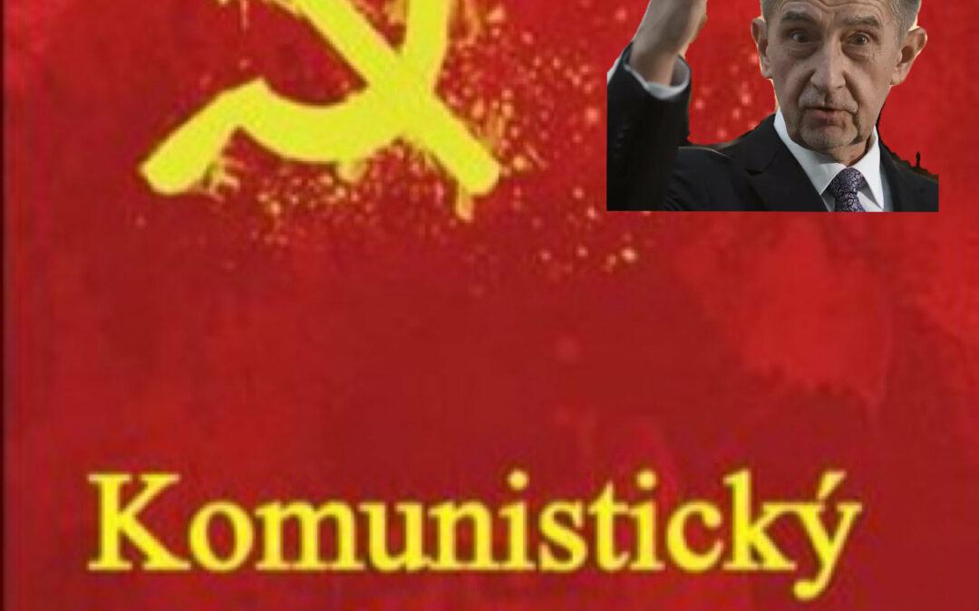 Komunisté vypověděli toleranci Babišově vládě.