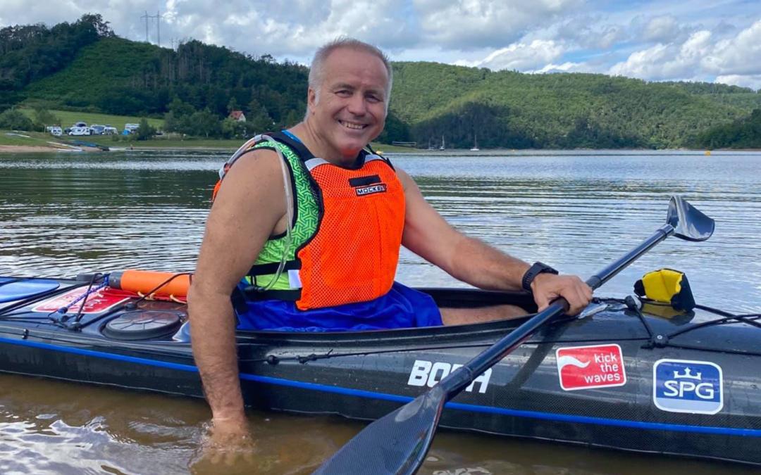 Zlatí medailisté z olympiády mne motivovali, a tak jsem o víkendu vyrazil na projížďku na přehradě Orlík.
